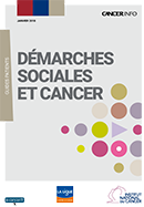 guide INCa Démarches sociales et cancer - 2018